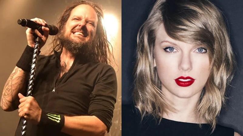 Jonathan Davis diz que Taylor Swift é fã de Korn