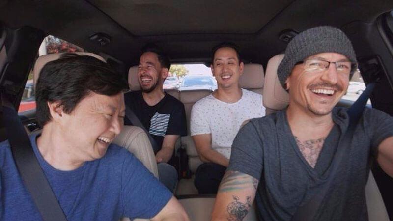 Linkin Park divulga Carpool Karaoke gravado dias antes da morte de Chester Bennington