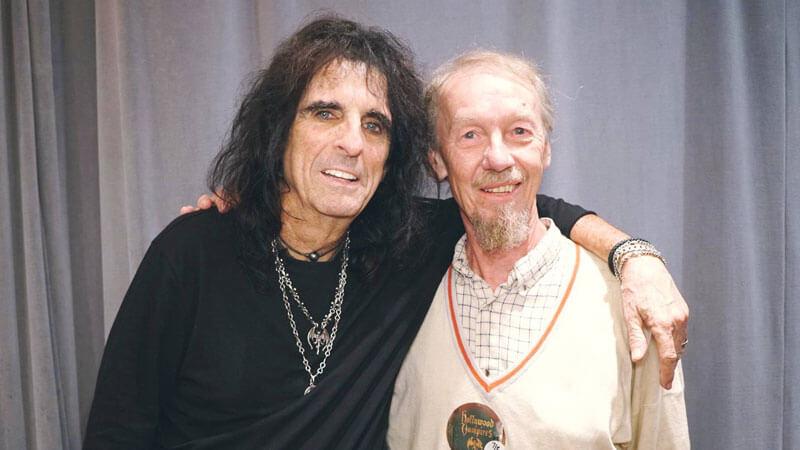 Alice Cooper e Whitey Glan