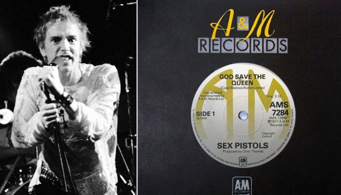 Single raro do Sex Pistols está à venda por quinze mil dólares