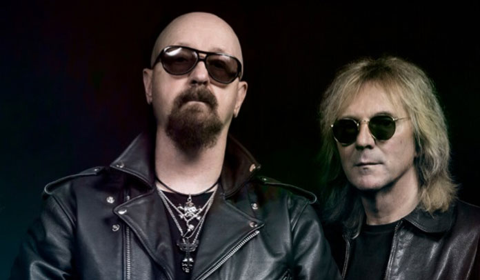 Rob Halford e Glenn Tipton do Judas Priest