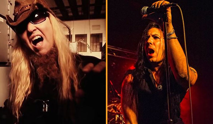 Warrel Dane e Joseph Michael