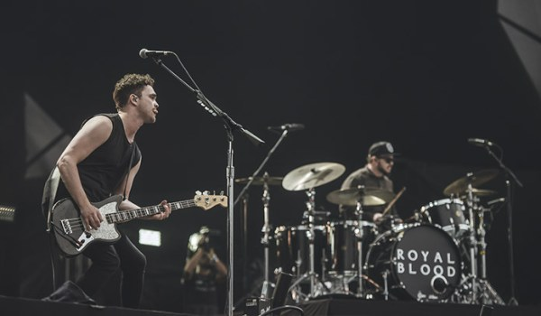 Royal Blood no Lollapalooza 2018