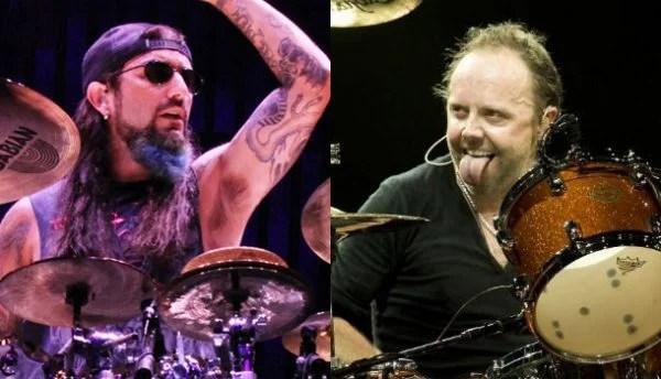 Mike portnoy e lars ulrich Metallica