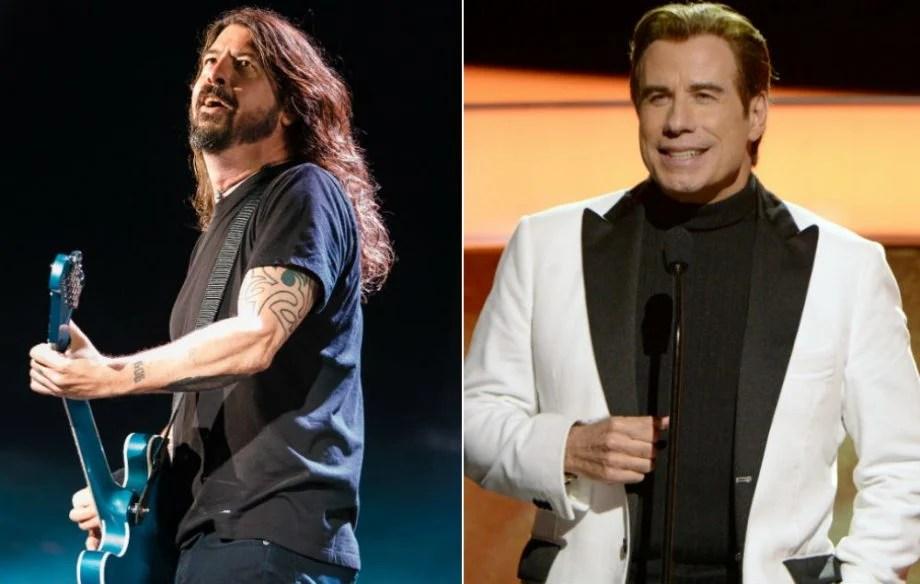 Foo Fighters e John Travolta
