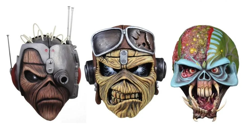 Iron Maiden máscaras Eddie