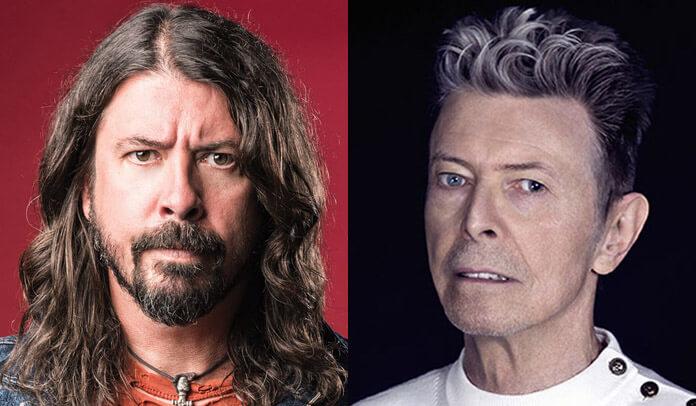 Música de Dave Grohl que foi rejeitada por David Bowie será lançada