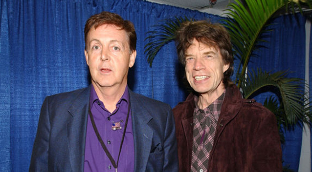 Paul McCartney e Rolling Stones