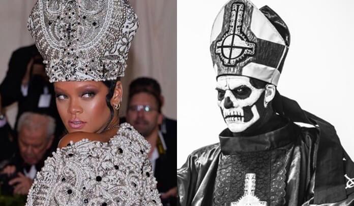 """Ghost agradece Rihanna por """"homenagem"""" no Met Gala 2018"""