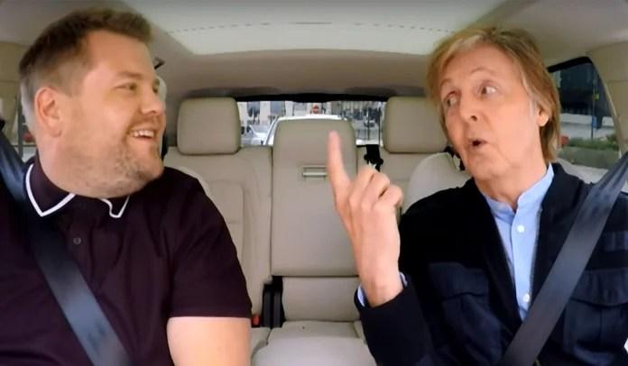aul McCartney visita casa onde morava e faz show surpresa em pub no Carpool Karaoke