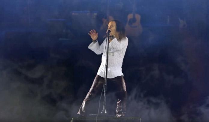Holograma do Ronnie James Dio