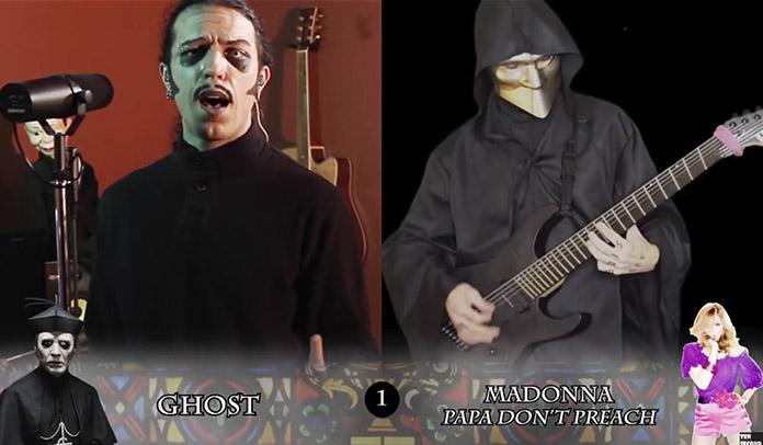 """Youtuber grava Led Zeppelin, Madonna e Green Day no """"estilo Ghost"""""""