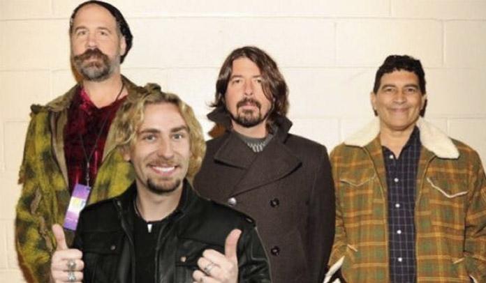 Campanha online pede reunião do Nirvana com Chad Kroeger no vocal
