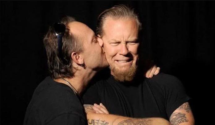 Metallica - Lars Ulrich e James Hetfield