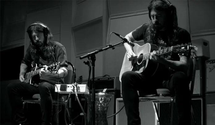 Dave Grohl divulga documentário com faixa instrumental de 23 minutos