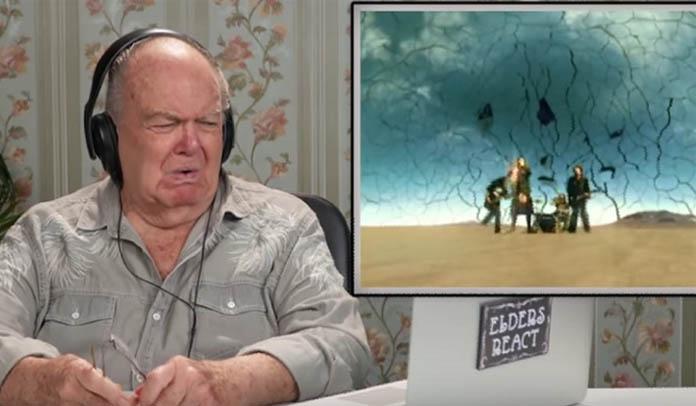 Idosos reagem a músicas do Korn