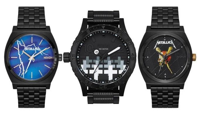Metallica - relógios