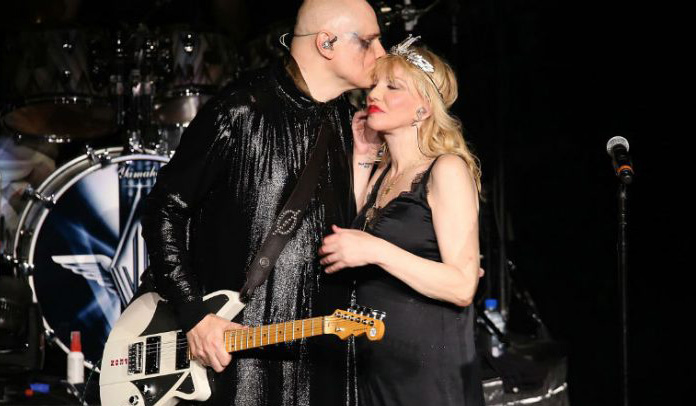 Smashing Pumpkins e Courtney Love
