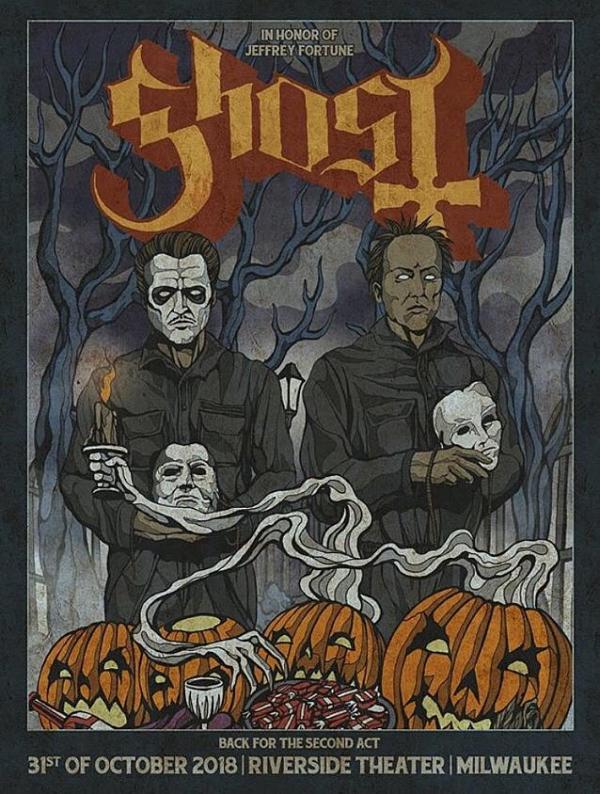 Ghost e Jeffrey Fortune