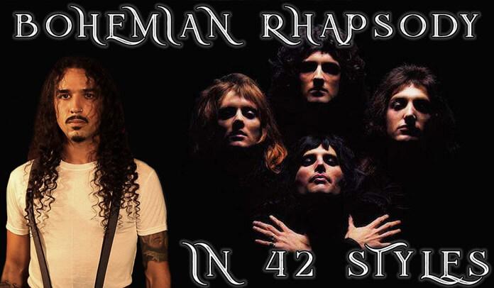 """Músico regrava """"Bohemian Rhapsody"""" em 42 estilos diferentes"""