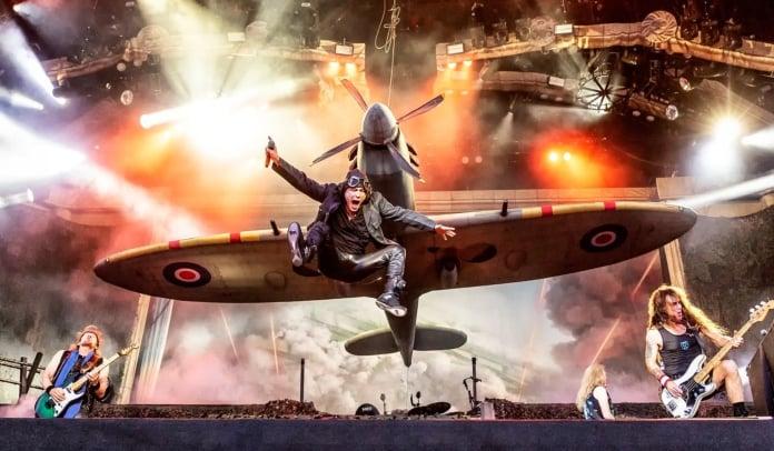 Show da turnê Legacy of the Beast Tour do Iron Maiden