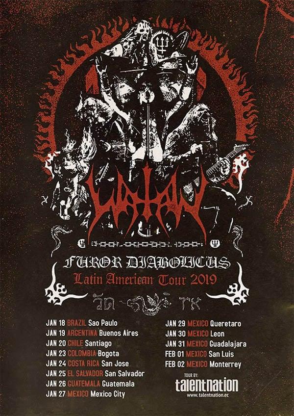 Watain anuncia show único no Brasil para janeiro