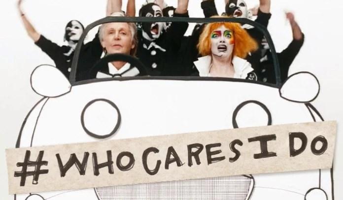 Paul McCartney e Emma Stone