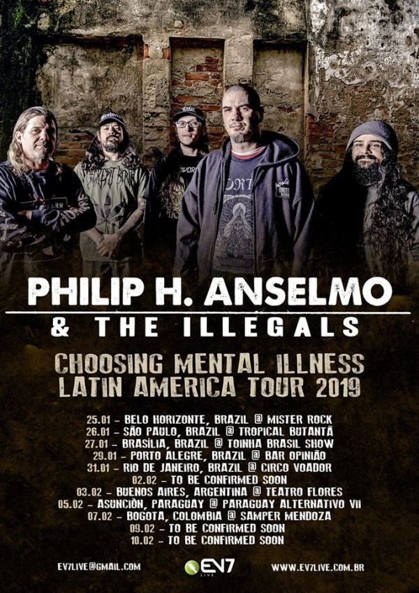Phillip Anselmo and The Illegals no Brasil