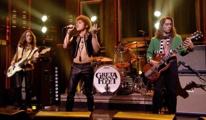 Greta Van Fleet no Saturday Night Live