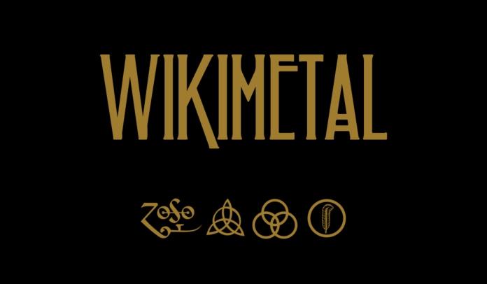 Led Zeppelin X Wikimetal é a playlist especial
