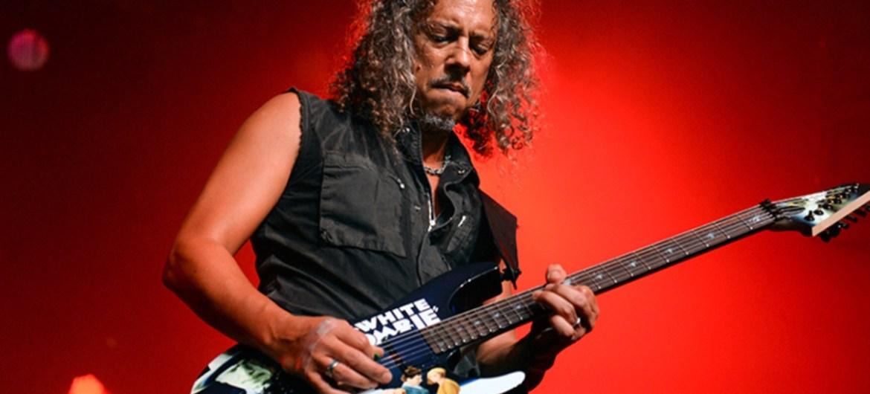 Kirk Hammett tem uma tonelada de material para o novo disco do Metallica
