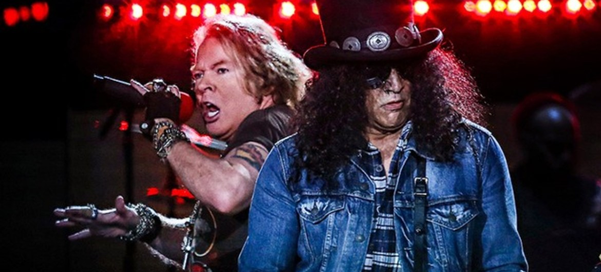 Slash confirma novas músicas do Guns N' Roses