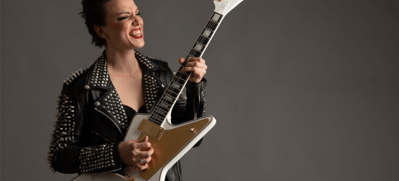 Halestorm: Lzzy Hale lança guitarra personalizada com Epiphone