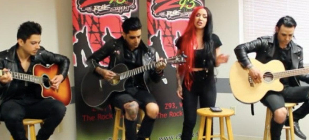 "New Years Day apresenta cover poderosa de ""Fucking Hostile"" do Pantera"