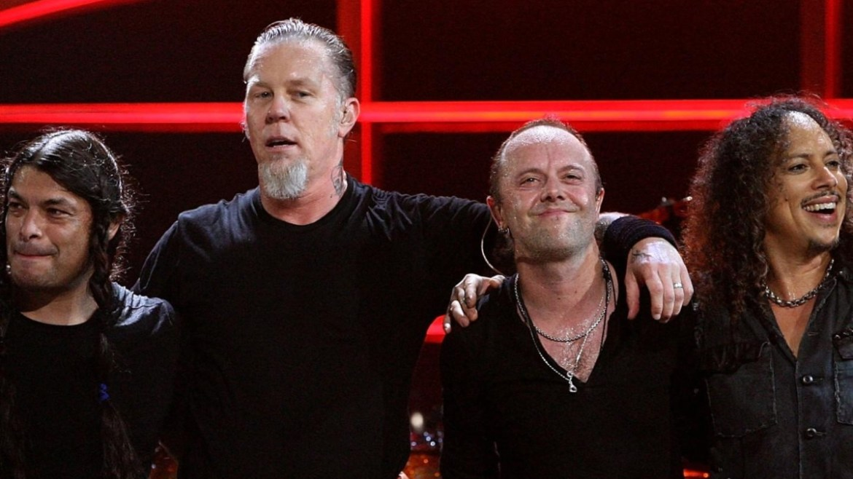 Metallica toca com fã de 13 anos