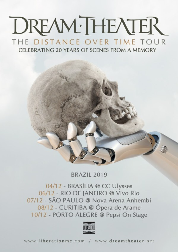 Dream Theater no Brasil