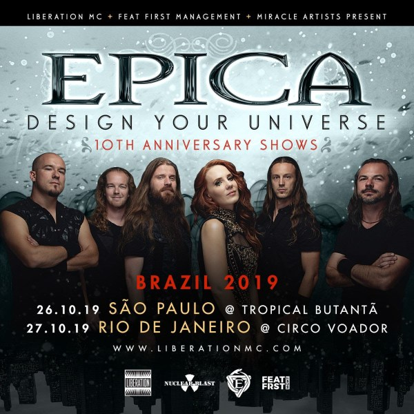 Epica no Brasil