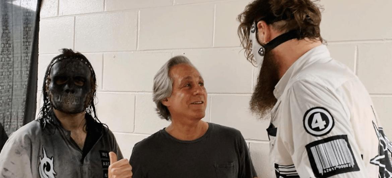 Jay Weinberg recria foto de quando conheceu o Slipknot
