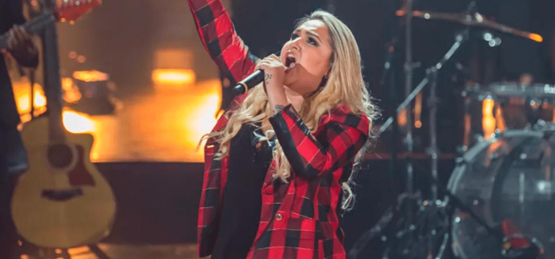 Rebeca Lindsay no The Voice Brasil