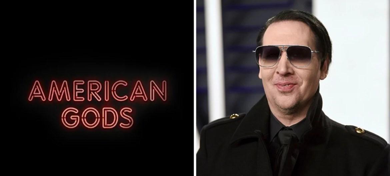 Marilyn Manson entra para o elenco de American Gods
