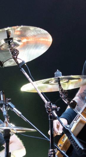 Lars Ulrich e James Hetfield do Metallica