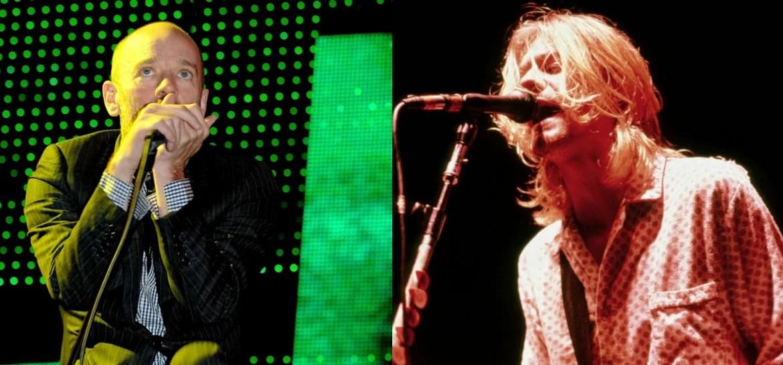 R.E.M. lança nova versão de música em homengam a Kurt Cobain