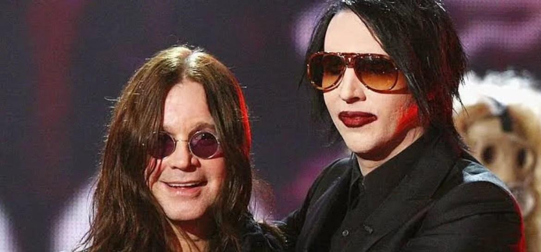 Ozzy Osbourne e Marilyn Manson entrarão em turnê conjunta