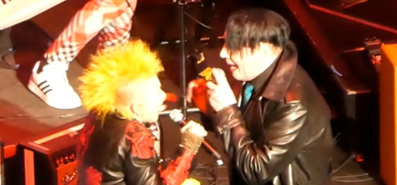 Cyndi Lauper e Marilyn Manson
