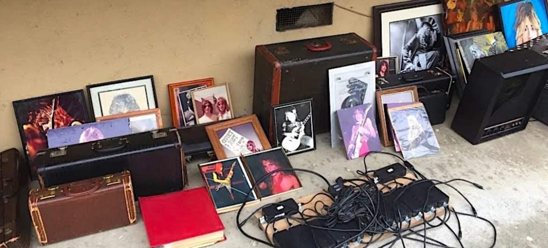 Equipamentos roubados de Randy Rhoads foi encontrado em lixeira