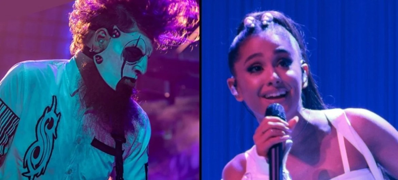 Jim Root é fã de Ariana Grande