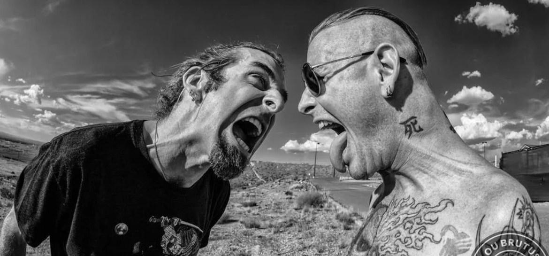 Corey Taylor e Randy Blythe no supergrupo Teenage Time Killers