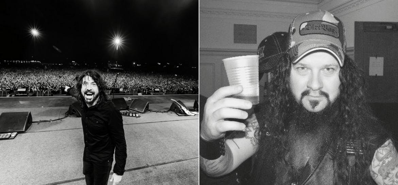 Dave Grohl e Dimebag Darrell