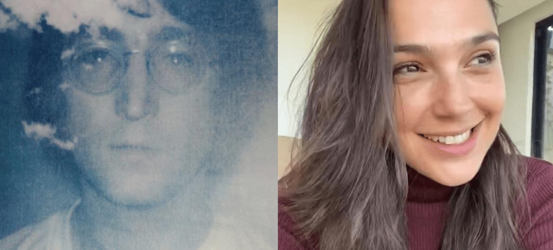 John Lennon e Gal Gadot