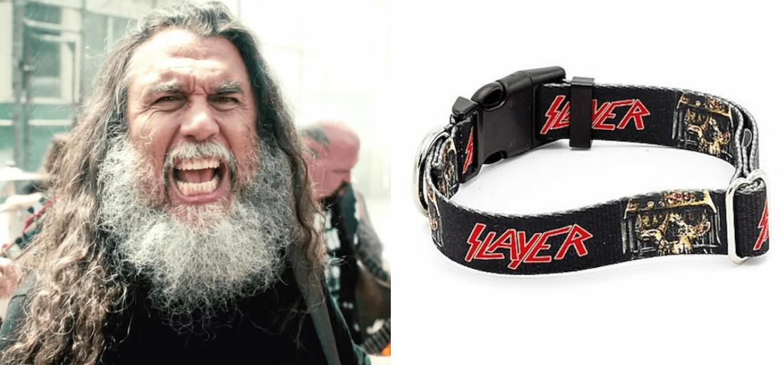 Empresa lança coleiras para cachorros inspiradas em Slayer, Judas Priest e mais